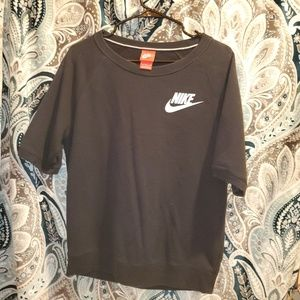 Nike short sleeve sweater